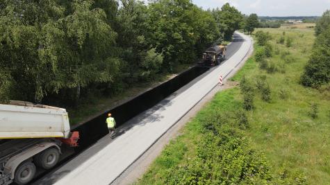 Przebudowa drogi powiatowej Dobrut-Śniadków-Lipienice