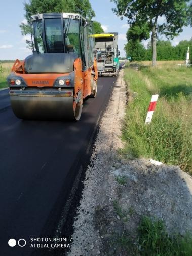Remont drogi wojewódzkiej nr 740